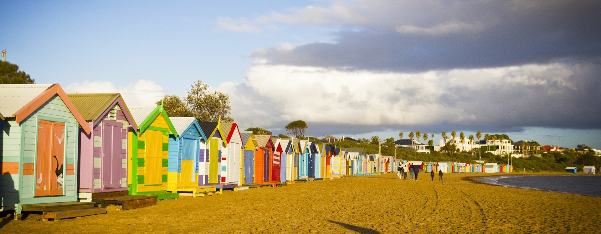 Visit Brighton Beach, one of Melbourne's many pristine bayside beaches