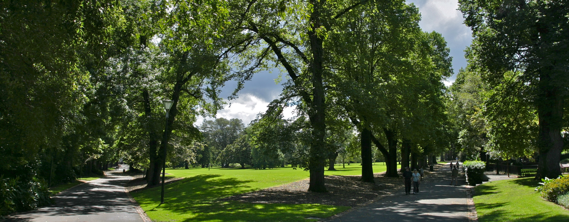 The beautiful greenery of Fitzroy Gardens is at your doorstep