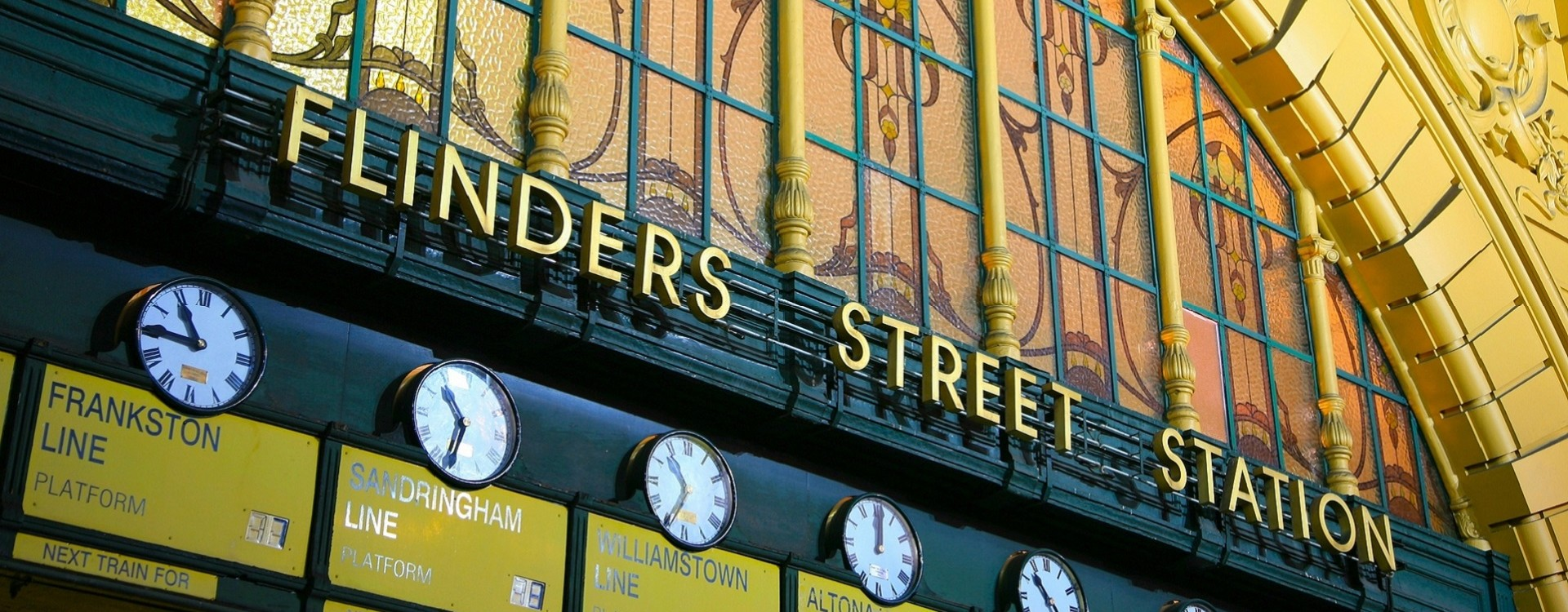 """I'll meet you under the clocks"" – Flinders St station is the iconic landmark in Melbourne's CBD"